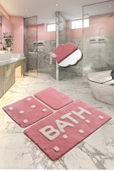 Chilai Home - BATH PEMBE 3 LU SET