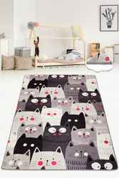 Chilai Home - Cats Gri Djt 80x120 cm